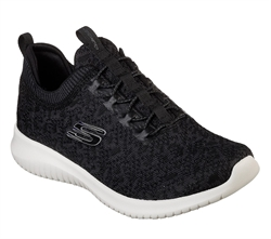 Skechers Womens Ultra Flex - High Reach - 12919BKW bittesko.dk