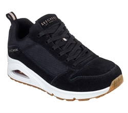 Skechers Womens UNO Two for the show - 73672BLK