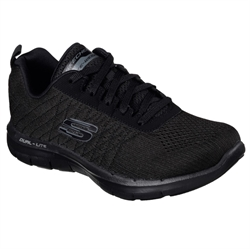 Skechers Womens Flex Appeal 2,0 - Break - 12757BBK bittesko.dk